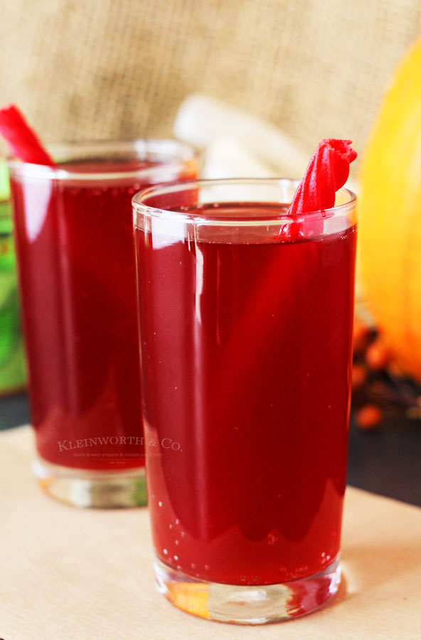 Halloween punch for kids