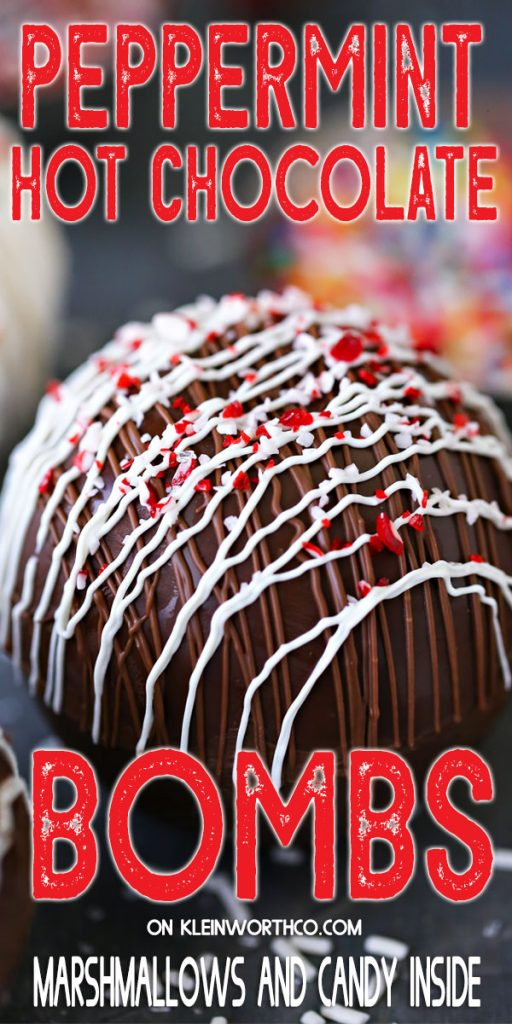 Peppermint Hot Chocolate Bombs - MULTIPLE FLAVORS