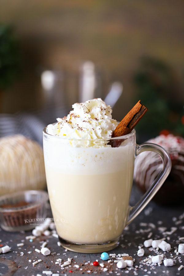 Hot Chocolate Bombs - Eggnog