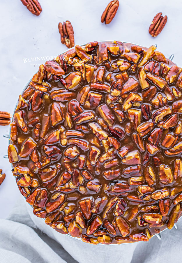 pecan topping for cheesecake