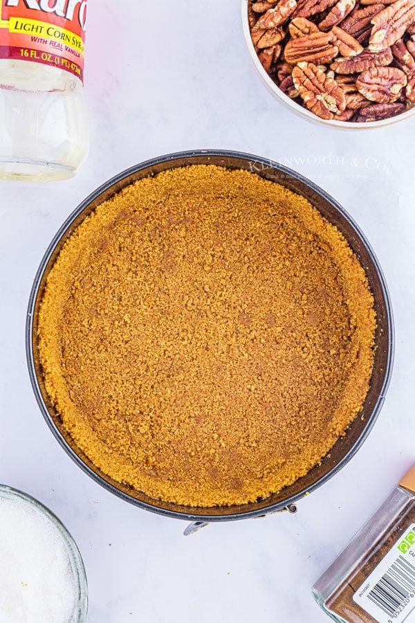 crust for no bake cheesecake