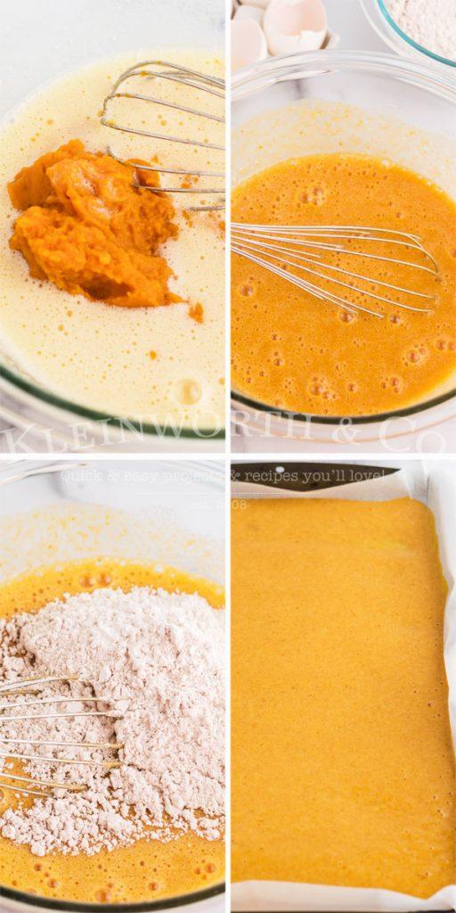 how to make pumpkin roll cake