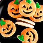 Holiday Cookies Pumpkin Shortbread