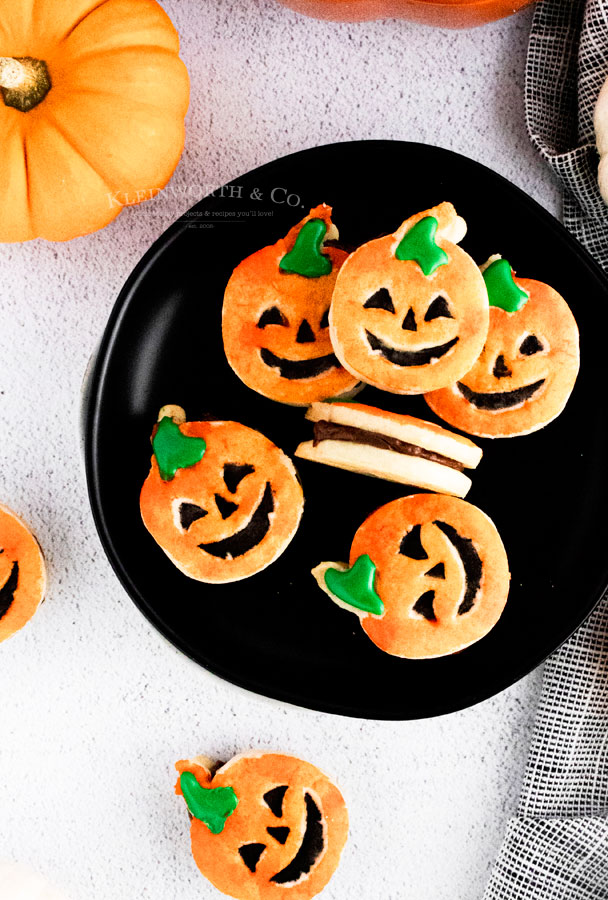 Halloween Party Pumpkin Cookies