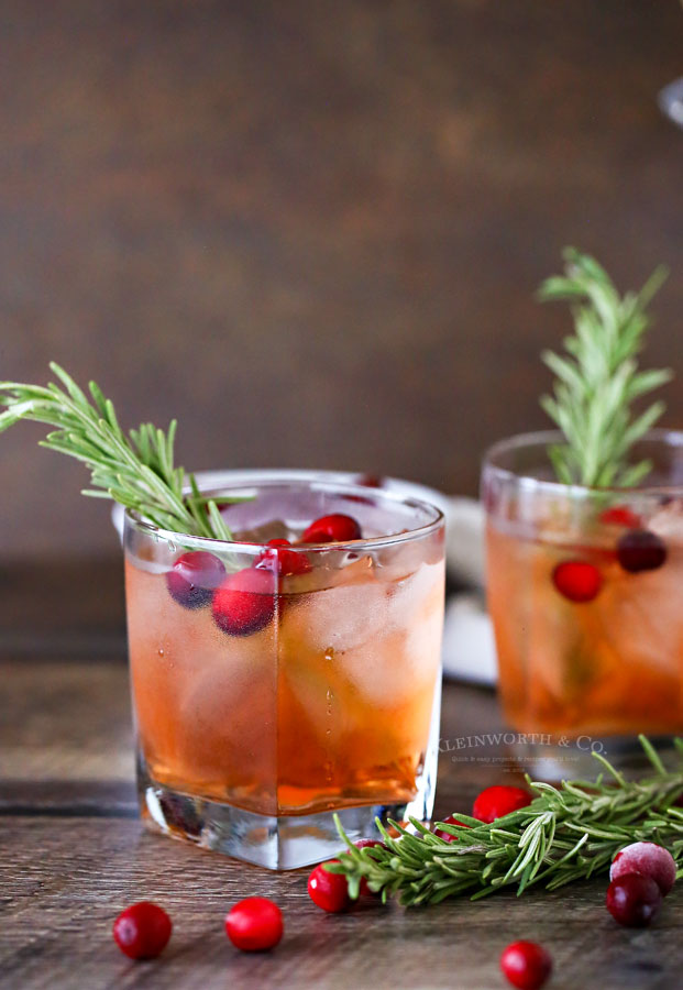 how to make Apple Cranberry Spritzer