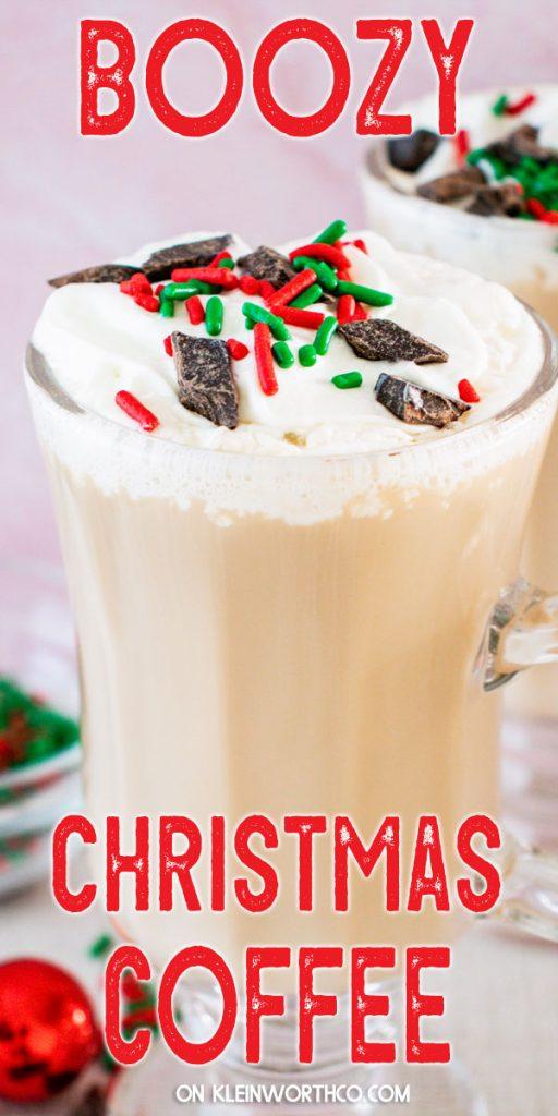 Boozy Christmas Coffee