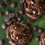 Recipe for Pretzel Brownie Cookies