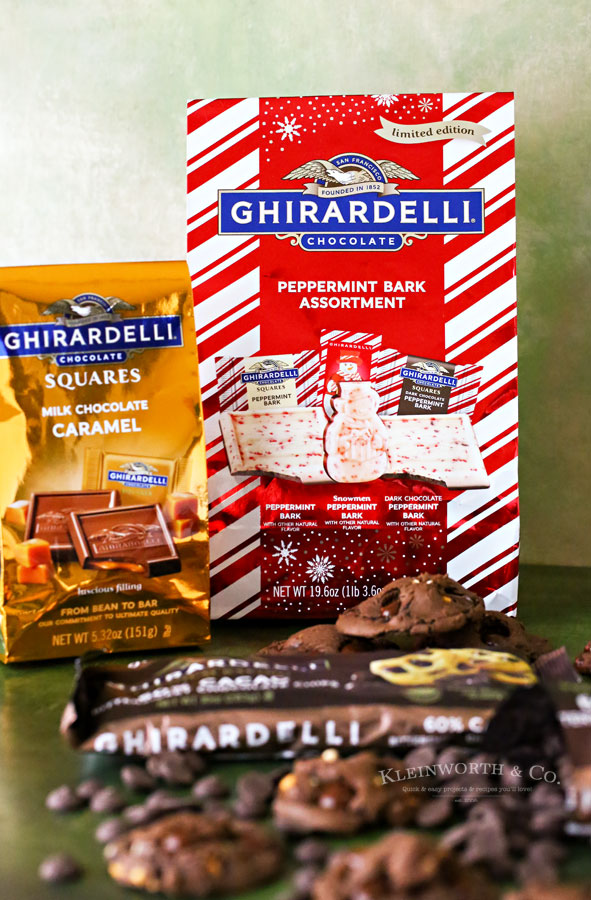 Ghirardelli Squares - Holiday Gift Bags