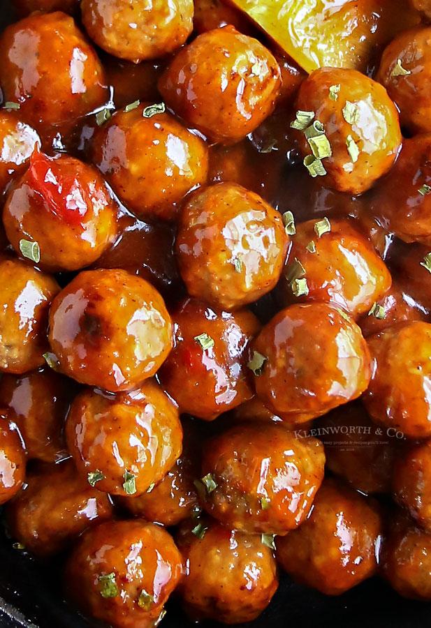 Instant Pot Cranberry Meatballs