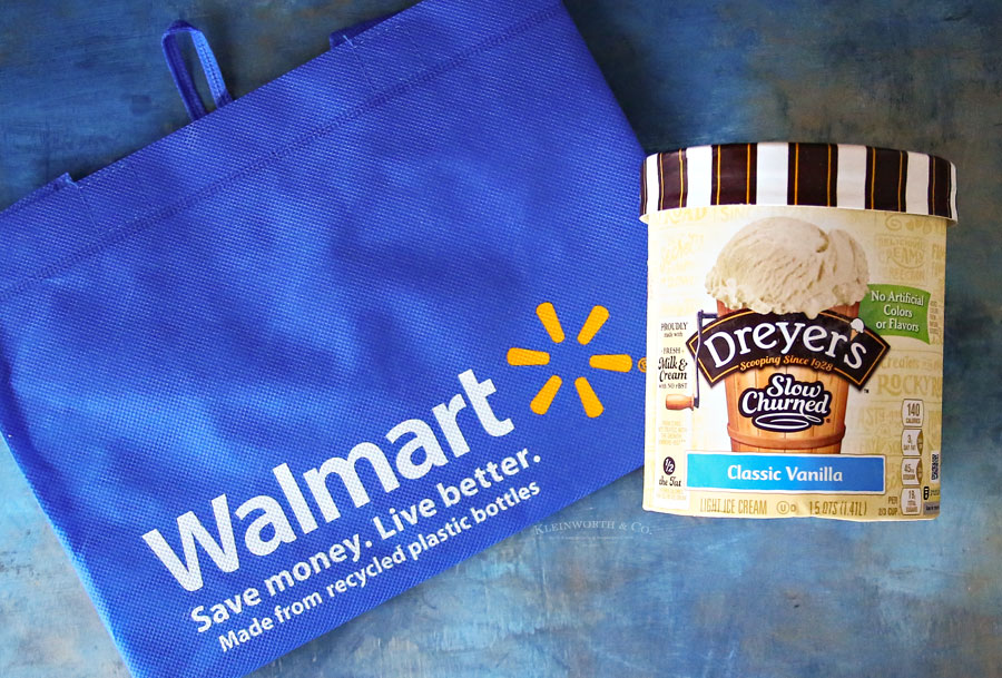 Dreyer's Ice Cream and Walmart