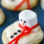How to make Melting Snowman Frosted Cookies