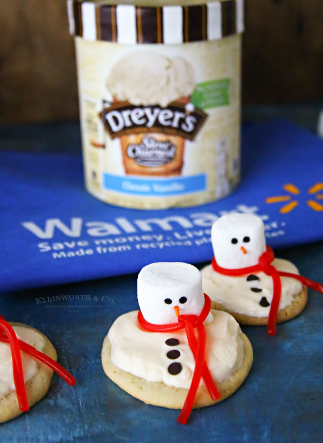 Snowman Cookies - Dreyer's