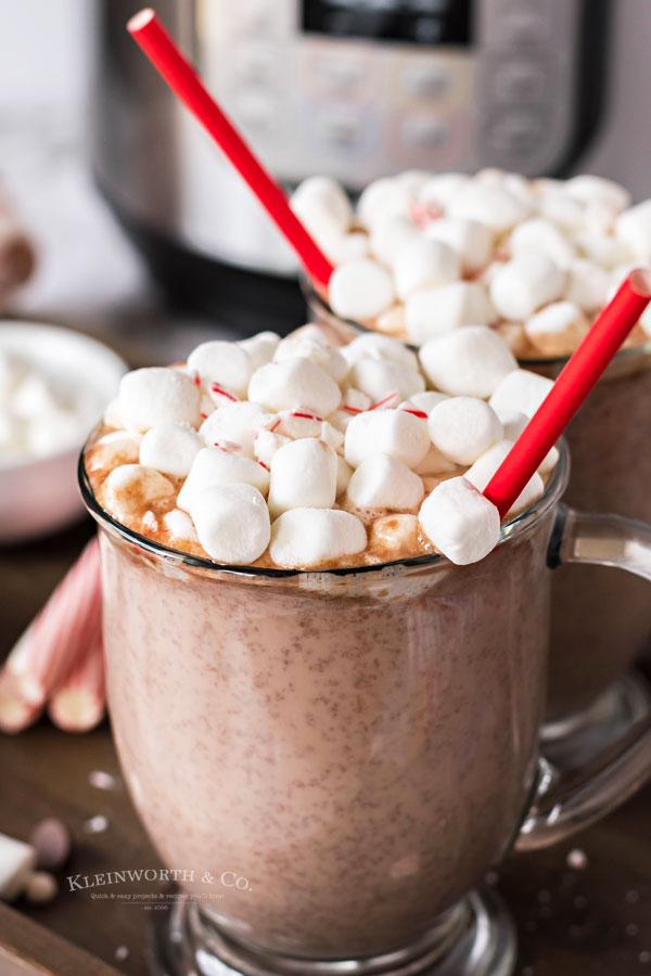pressure cooker hot chocolate