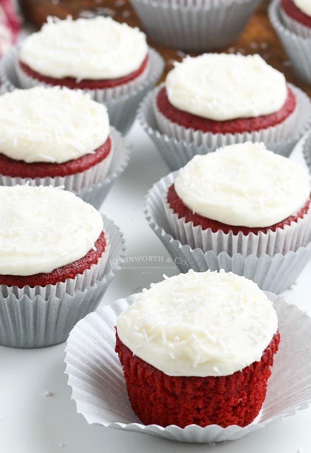 how to make red velvet cupcakes