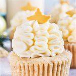 Christmas Eggnog Cupcakes