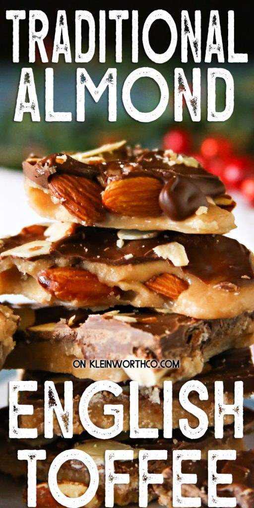 Traditional Almond English Toffee
