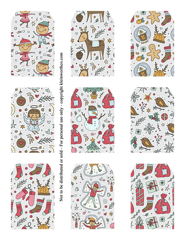 Vintage Winter Images tags