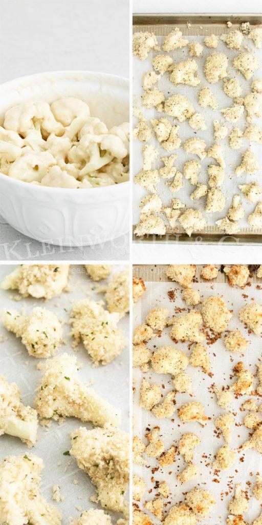 Baking Buffalo Cauliflower Bites