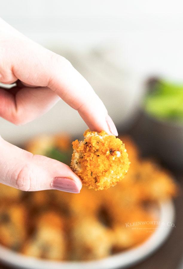 Air Fryer Buffalo Cauliflower Bites