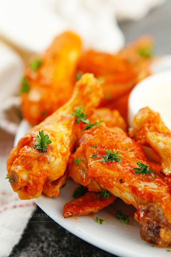 game day chicken wings