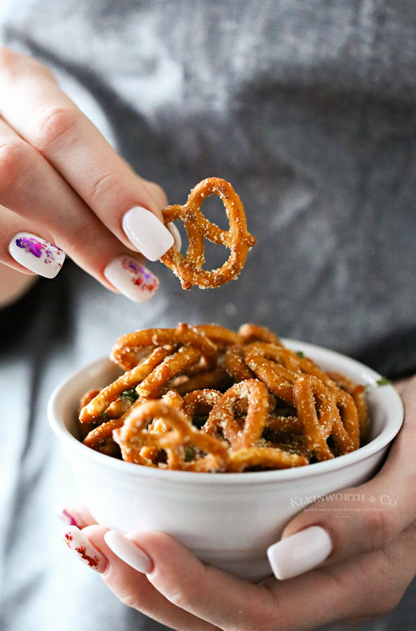 game day pretzel recipe