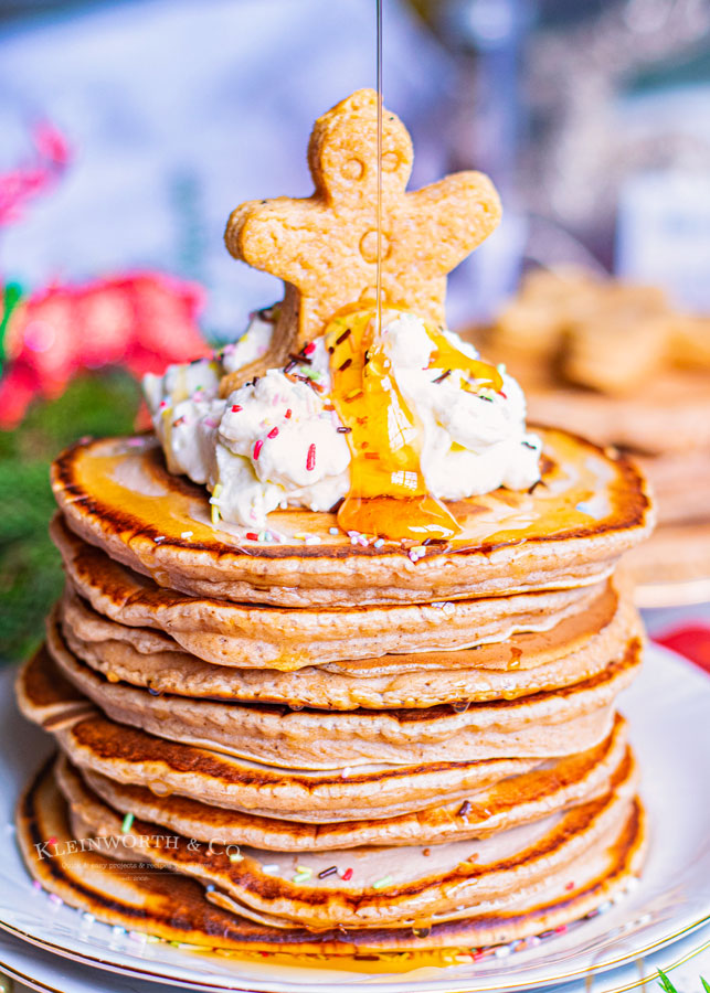 How to make Gingerbread Pancakes