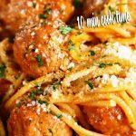 Instant Pot Spaghetti and Meatballs