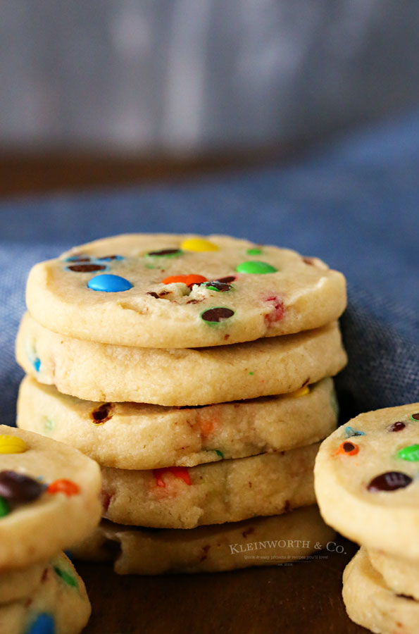 M&M Slice & Bake Cookies Recipe