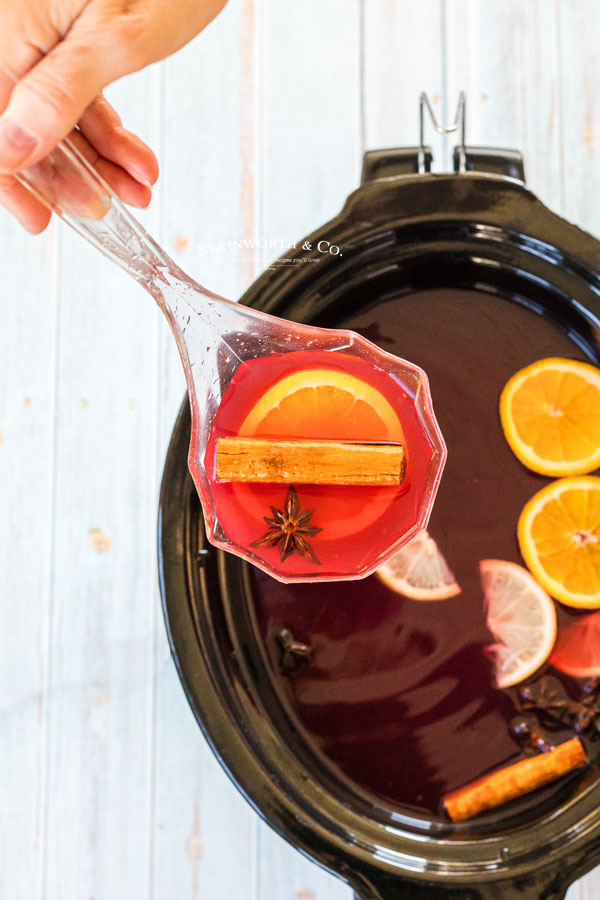Recipe for Slow Cooker Wassail