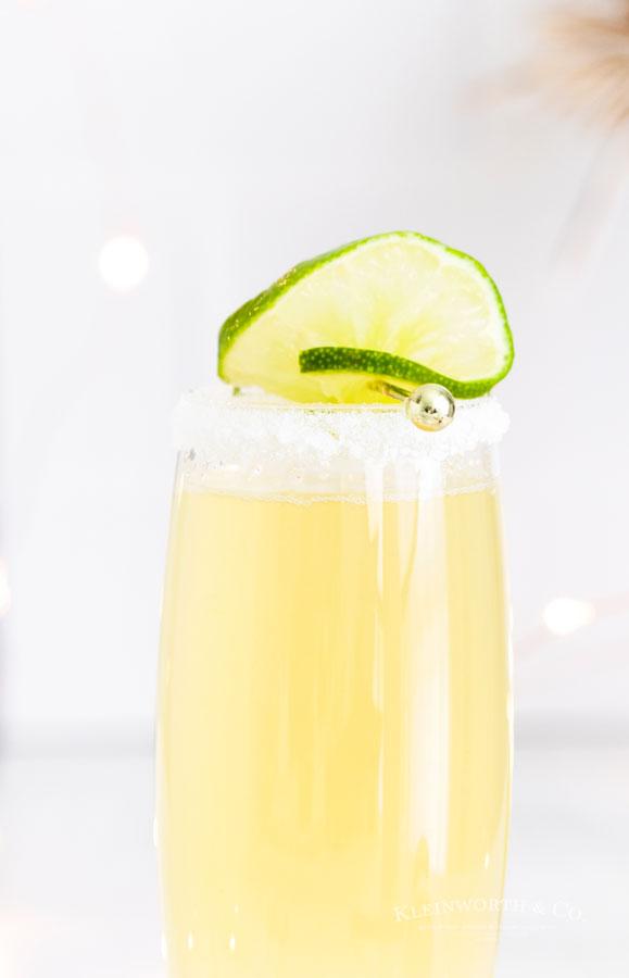 recipe for Sparkling Champagne Margarita