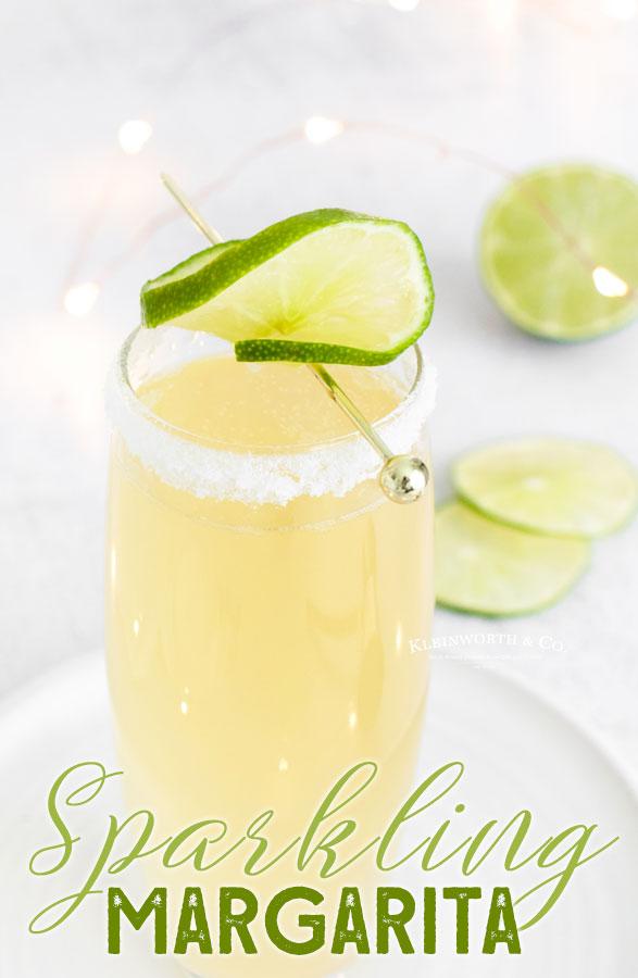 Sparkling Champagne Margarita