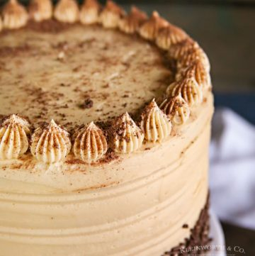 recipe for Coffee Buttercream Frosting