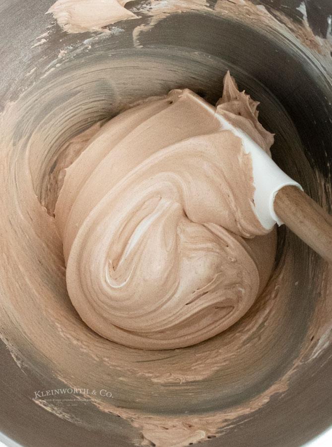 whipped meringue egg whites