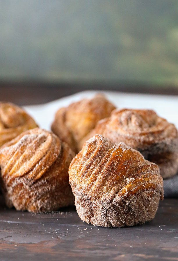 how to make cruffins with crescent dough