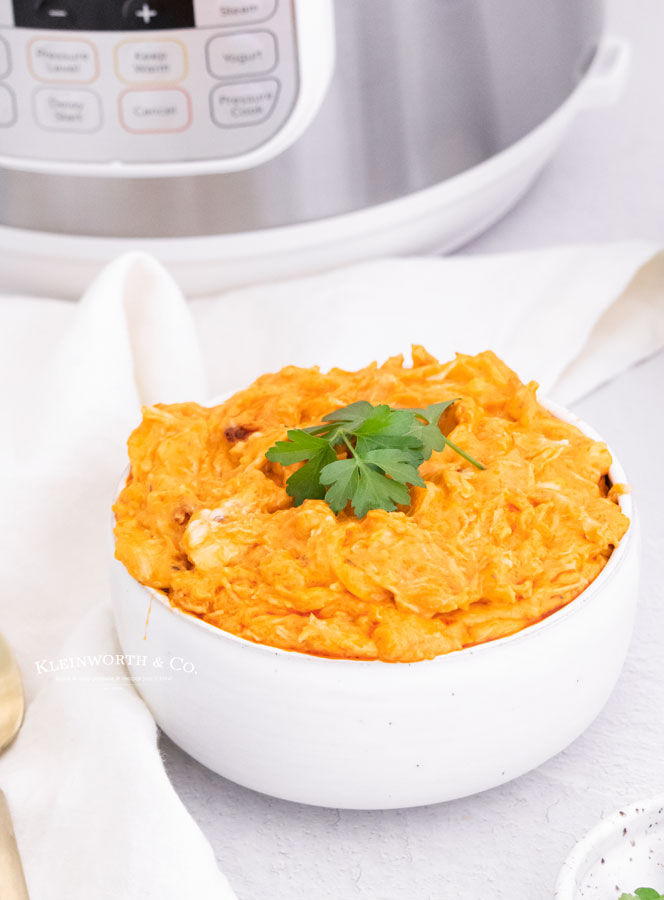 shredded buffalo chicken