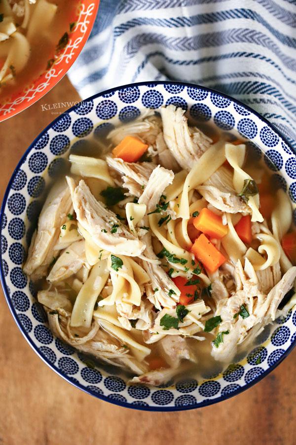 Best Instant Pot Chicken Soup