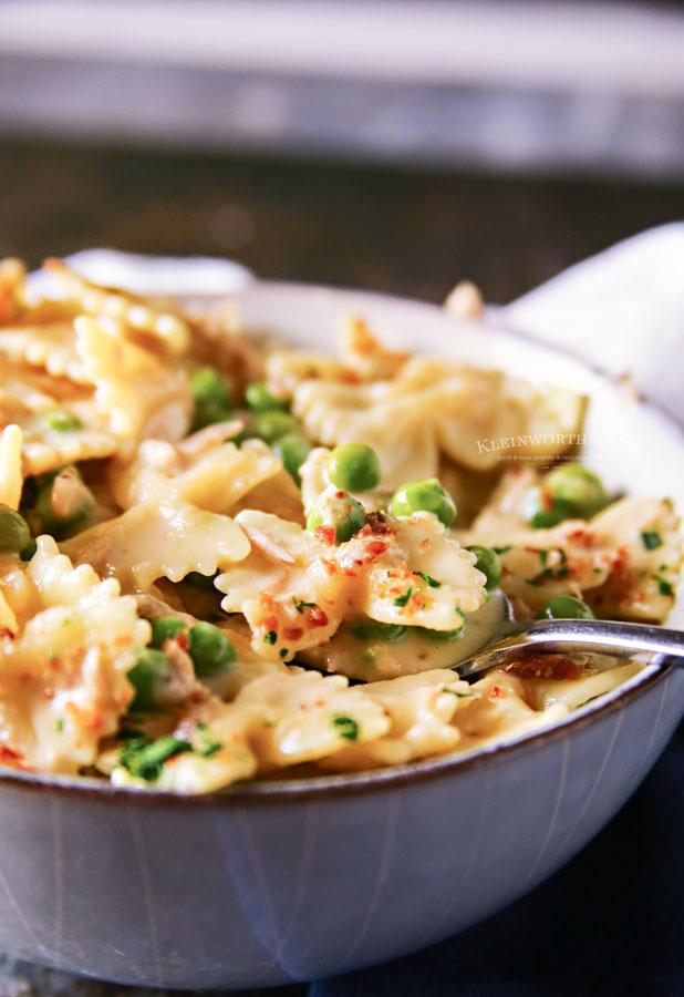 Instant Pot Tuna Noodle Casserole recipe