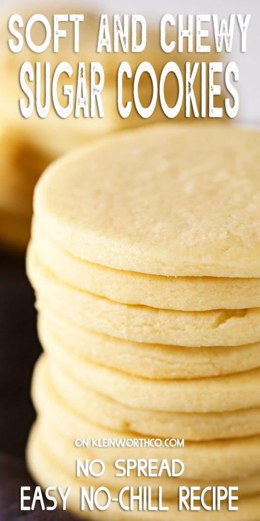 Easy No-Chill Sugar Cookie Recipe