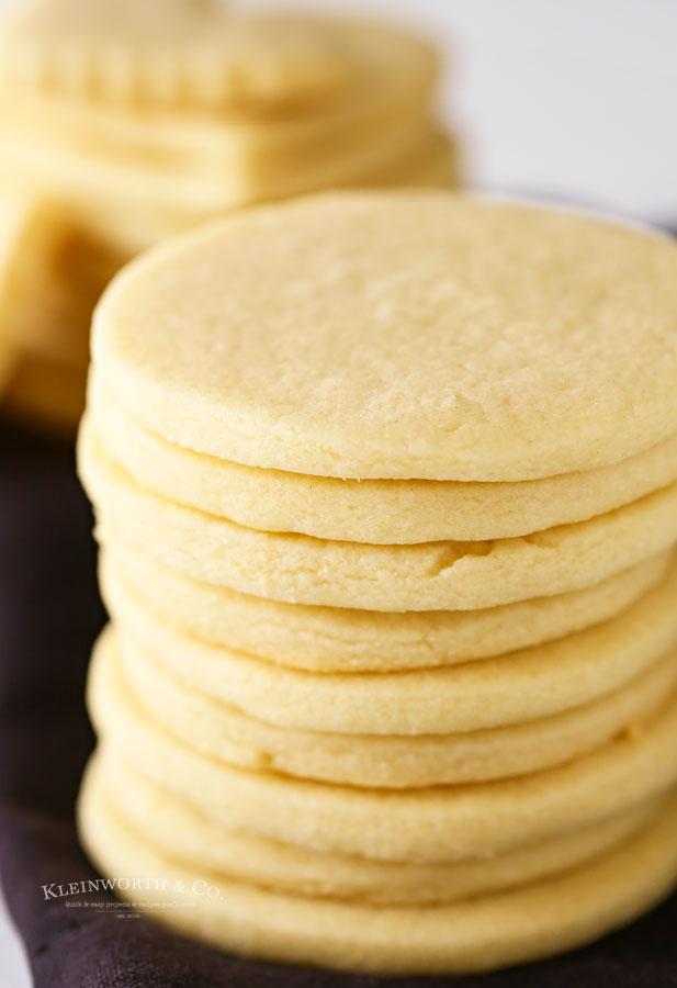Soft & Chewy Sugar Cookie Recipe