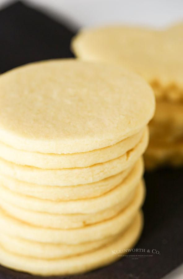 Round Sugar Cookies