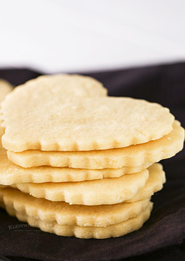 No Spread Valentine Cookies