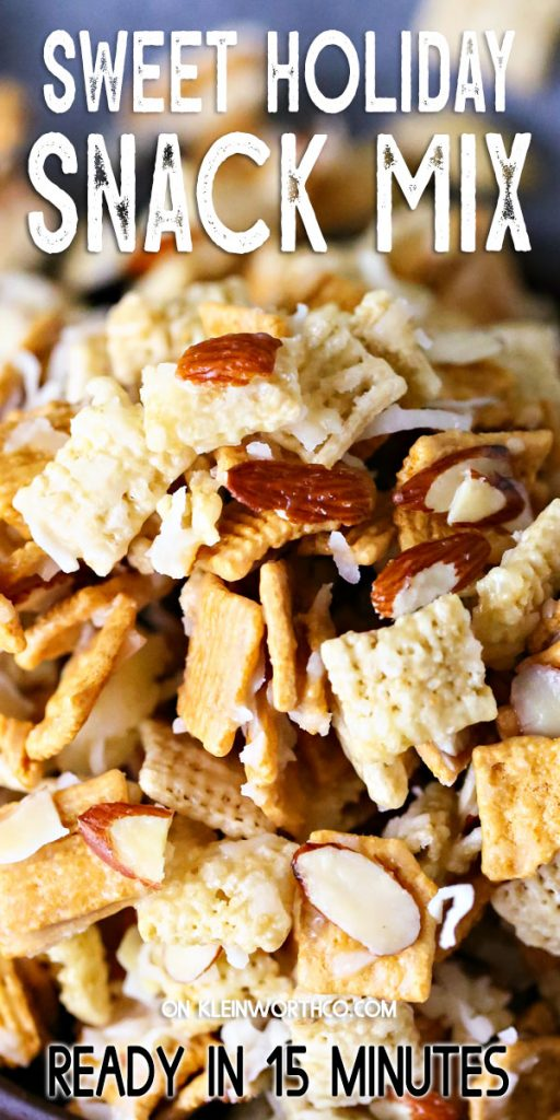 Sweet Holiday Snack Mix