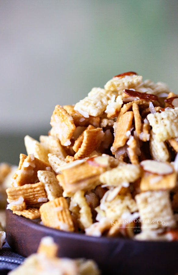 recipes for snack mixes