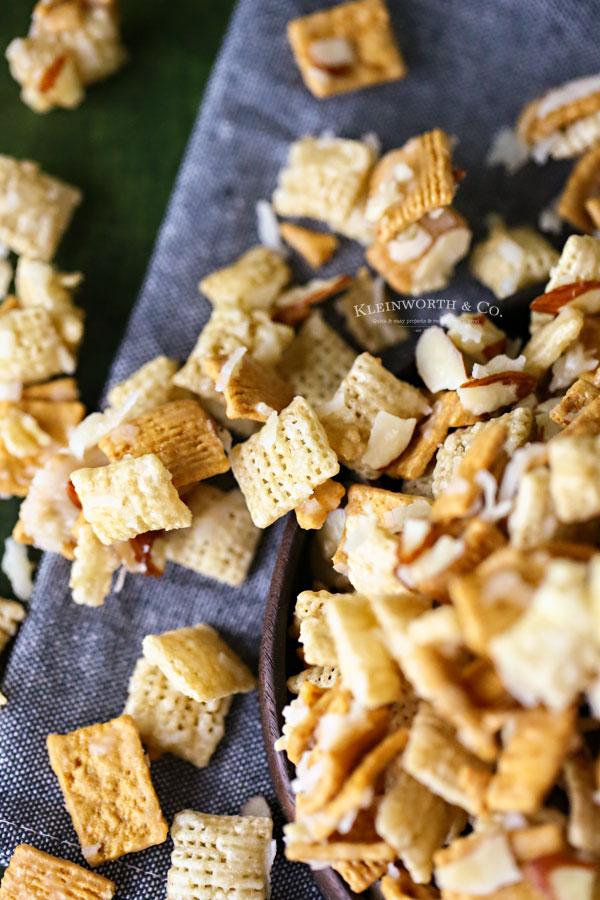 sweet chex mix recipe