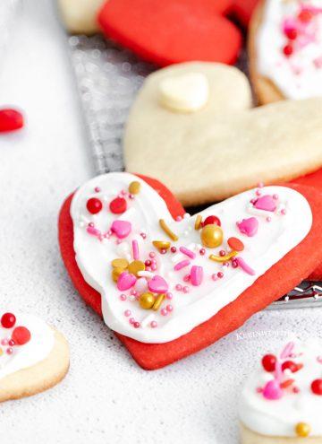 Valentine Shortbread Cookies recipe