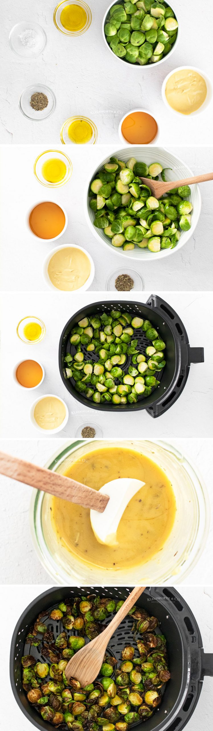 how to make Air Fryer Brussel Sprouts