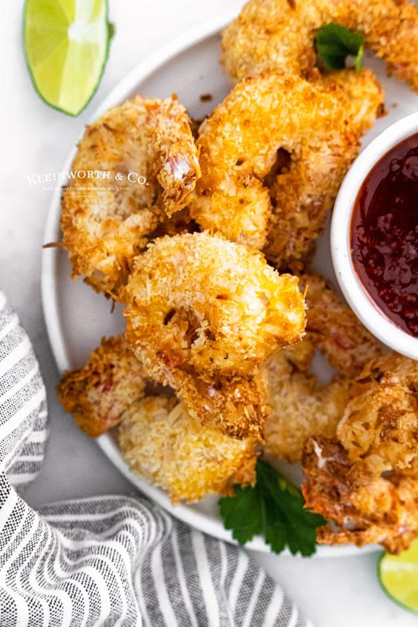 15 minute Air Fryer Shrimp
