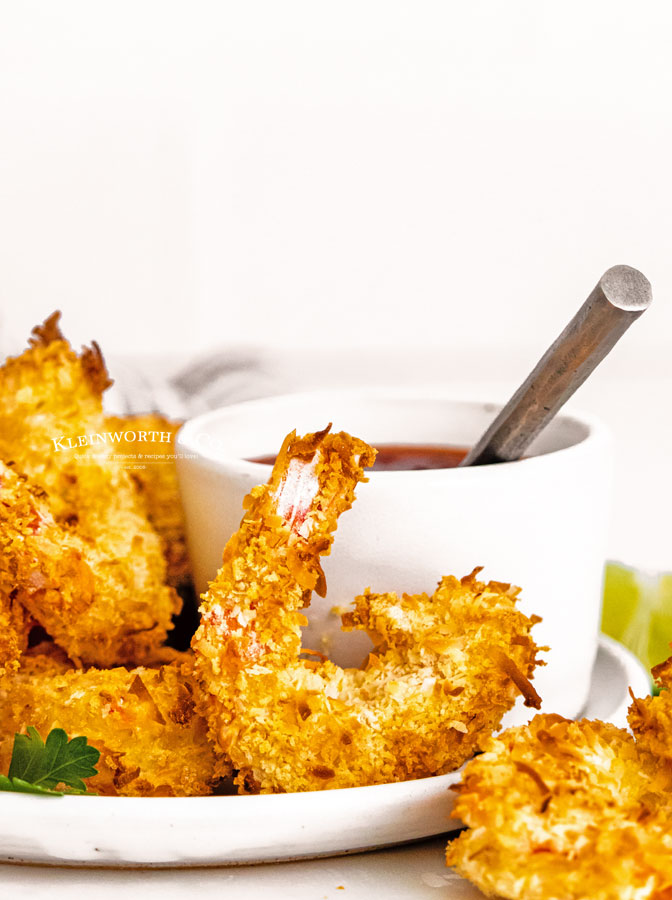 shrimp with coconut