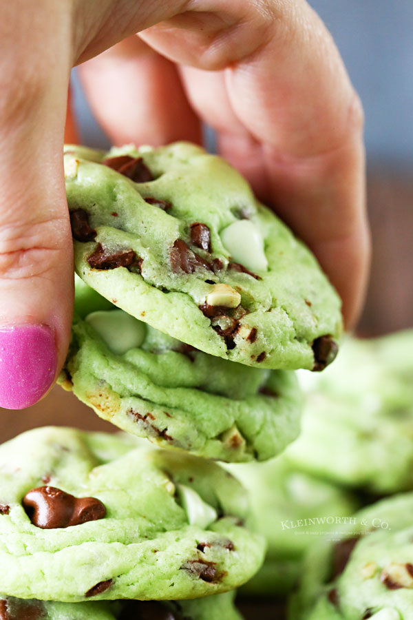 green andes mint cookies