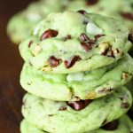 mint cookies for spring